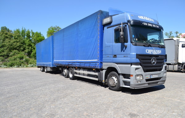 Mercedes Actros 2541 – blue
